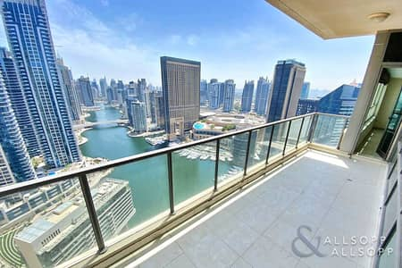 2 Bedroom Flat for Sale in Dubai Marina, Dubai - Exclusive | Full Marina Views | 2 Bedroom