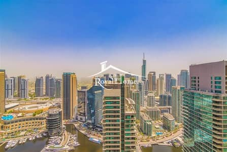 2 Bedroom Flat for Rent in Jumeirah Beach Residence (JBR), Dubai - Spacious | 2 Bhk apt | Full marina view