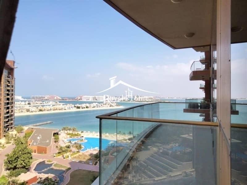 LUXURY 1 BR with balcony and Burj Al Arab View