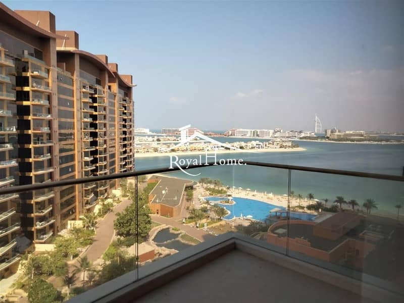 11 LUXURY 1 BR with balcony and Burj Al Arab View