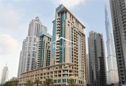 Studio for Rent in Downtown Dubai, Dubai - Fully Furnished Studio with balcony in BLVD Central Podium with Community View