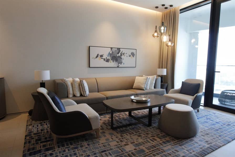2 Spacious 1BR | High Floor | Marina View