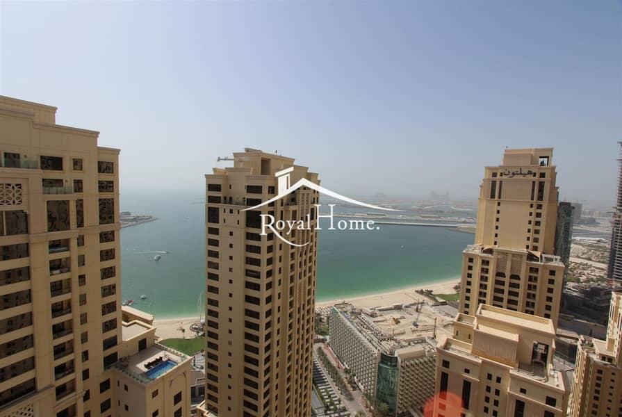 2BR + Storage | Sea & Marina View | High Floor