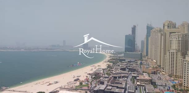 1BR Unfurnished | Middle Floor | Full Sea View