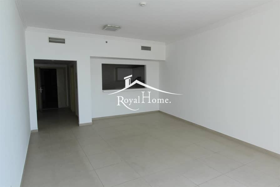 2 1BR Unfurnished | Middle Floor | Full Sea View