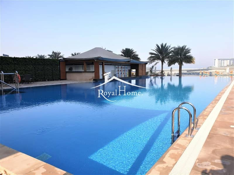 13 1BR Unfurnished | Middle Floor | Full Sea View
