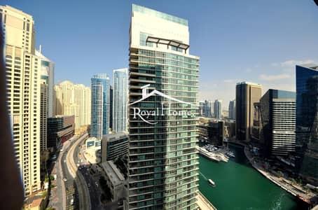شقة 2 غرفة نوم للايجار في دبي مارينا، دبي - Fully Furnished 2 BR | Free Chiller