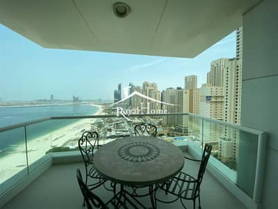 Furnished   2BR Apartment with Panoramic Sea View