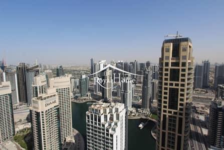 فلیٹ 2 غرفة نوم للايجار في جميرا بيتش ريزيدنس، دبي - Spacious 2BR Unfurnished | High Floor| Marina View