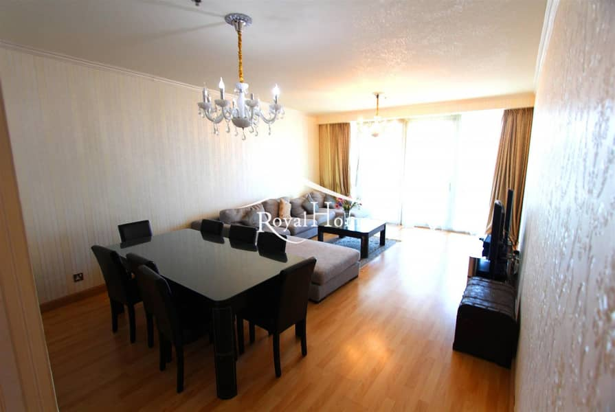 Fully furnished | 3BR+M | Sea view