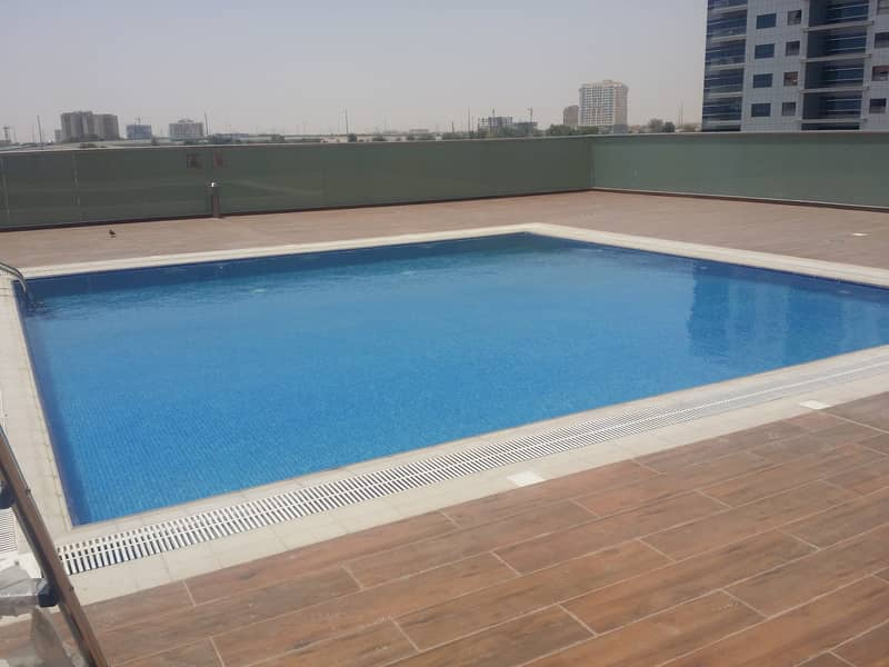 studio with balcony for rent in bubai silicon oasis (silicon gate 04 ) just in