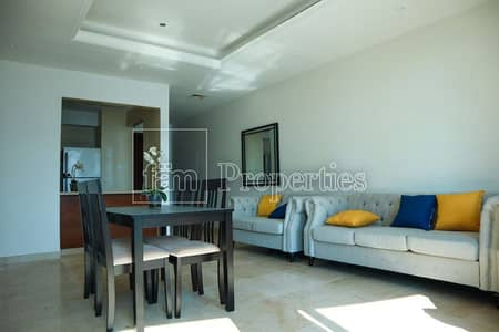 2 BR Apt.  Furnished with Partial Marina View
