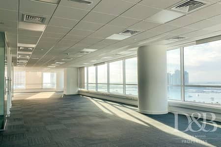 Office for Rent in Dubai Media City, Dubai - Fully Fitted Office | With Full Sea View