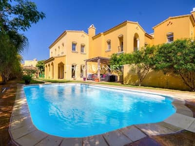 4 Bedroom Villa for Sale in Arabian Ranches, Dubai - A Type | Full Lake View | with Pool | Palmera