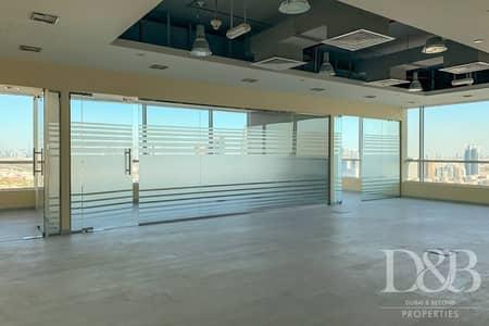 مکتب  للايجار في مدينة دبي للإعلام، دبي - Fully Fitted Office | With Full Sea View