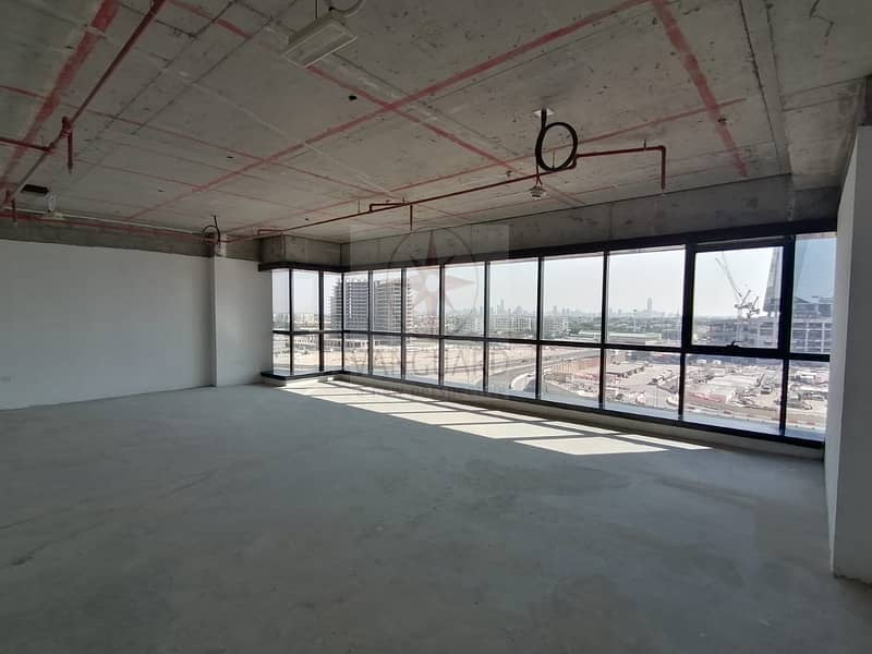 Shell and Core Office Space with Lake View for Sale in JBC4
