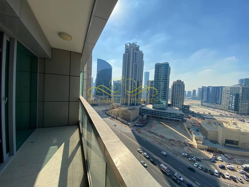 2 HighRise | Unfurnished | Business Bay View | EMAAR