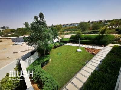 تاون هاوس 3 غرف نوم للبيع في داماك هيلز (أكويا من داماك)، دبي - Single Row Townhouse Community Over Looking Park