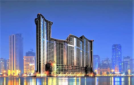 2 Bedroom Flat for Sale in Corniche Ajman, Ajman - Hot Deal!! Spacious 2 Bedroom Hall w/ scenic sea view in Ajman Corniche Residences