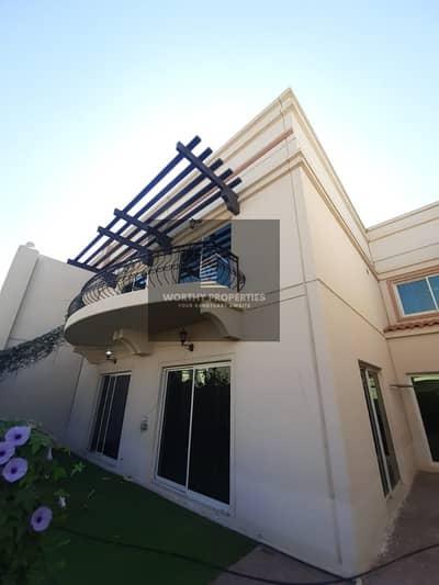 4 Bedroom Villa for Sale in Between Two Bridges (Bain Al Jessrain), Abu Dhabi - wonderful villa in seashore compound   clean maintenance