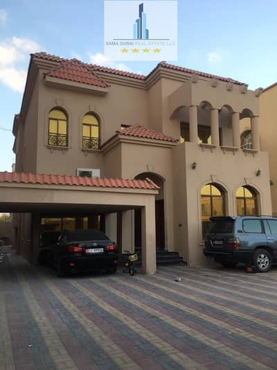 5 Bedroom Villa for Rent in Al Rawda, Ajman - Villa for rent in the Rawda area, super lux finishing, second residential, commercial, suitable for all commercial activities, 85000 negotiable