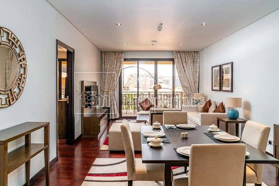 Exclusive Fully furnished One Bed | Sea View