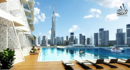 1 Bedroom Flat for Sale in Business Bay, Dubai - Your apartment directly on the Burj Khalifa and the canal / at 25% off its cost / Dubai offer