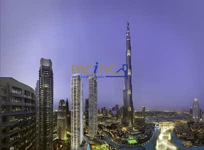 4 Bedroom Apartment for Sale in Downtown Dubai, Dubai - Luxury Duplex  ! Full View of Burj Khalifa