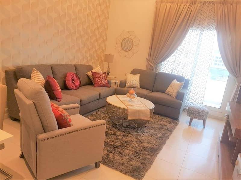 Spacious 2-BR Apartment in Dubai Silicon Oasis