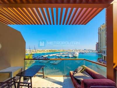Studio for Rent in Palm Jumeirah, Dubai - Full Sea view | Spacious Studio | Palm Views East