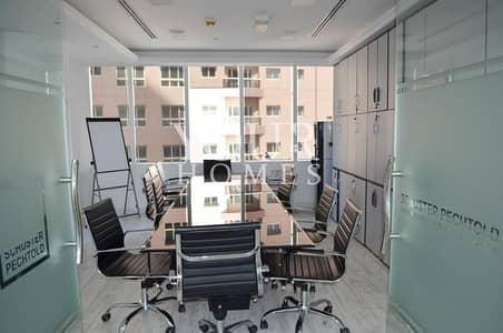 Office for Sale in Barsha Heights (Tecom), Dubai - OP| Fitted Vacant Furnished office 6 parkings