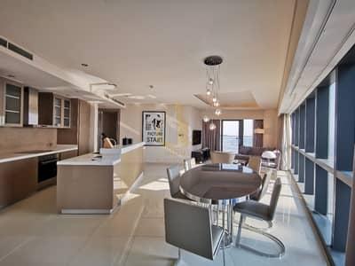 فلیٹ 3 غرف نوم للايجار في الخليج التجاري، دبي - Luxury Furnished | 3BR Amazing Layout | High Floor