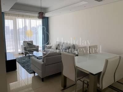 شقة في برج كونتينانتس قرية جميرا الدائرية 2 غرف 70000 درهم - 4959302