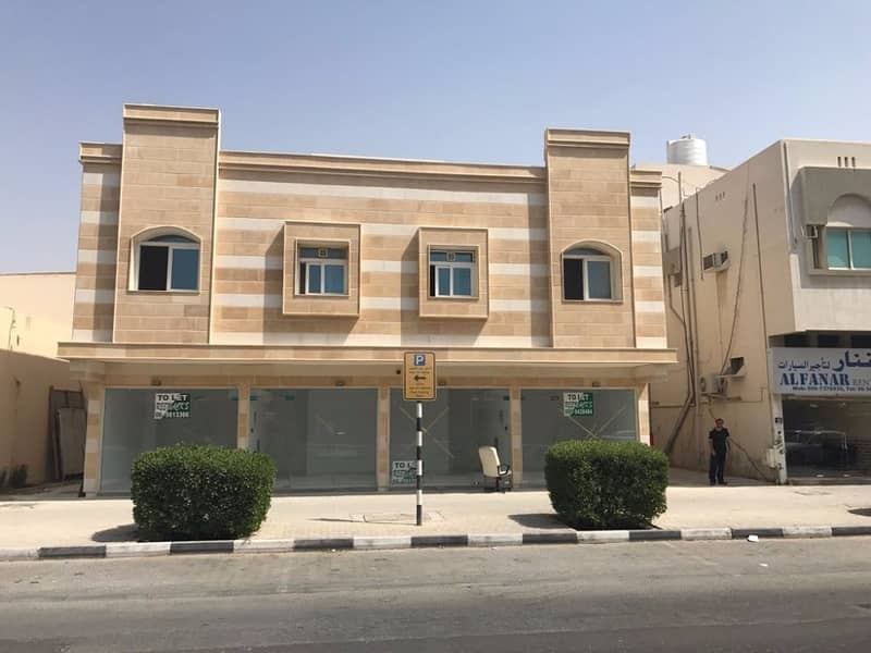 Brand new Spacious 1 B/R Hall Flats Available In Al Yarmook