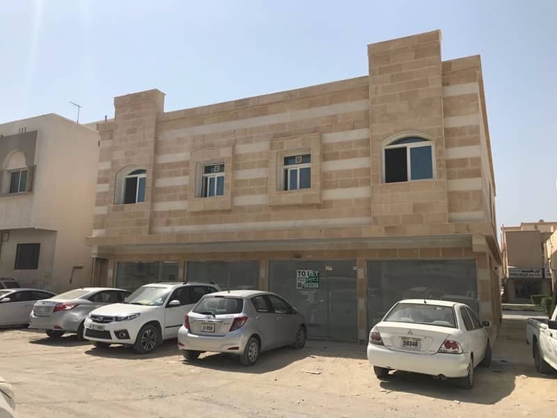 20 Brand new Spacious 1 B/R Hall Flats Available In Al Yarmook