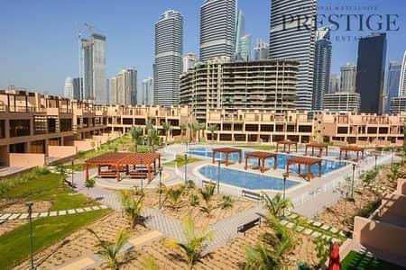 تاون هاوس 4 غرف نوم للبيع في جزر جميرا، دبي - Park & Pool View  4 Bed+Maids Townhouse