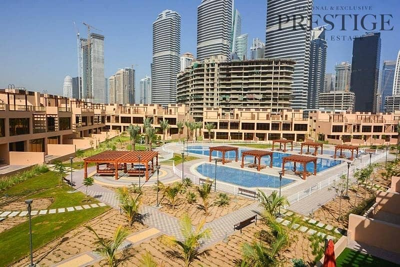 Park & Pool View  4 Bed+Maids Townhouse