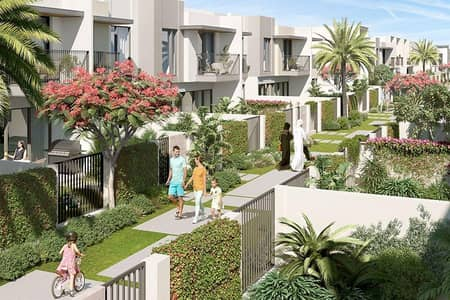 4 Bedroom Townhouse for Sale in The Valley, Dubai - Lowest 4 bed in Eden with 40% 2 yrs PHPP