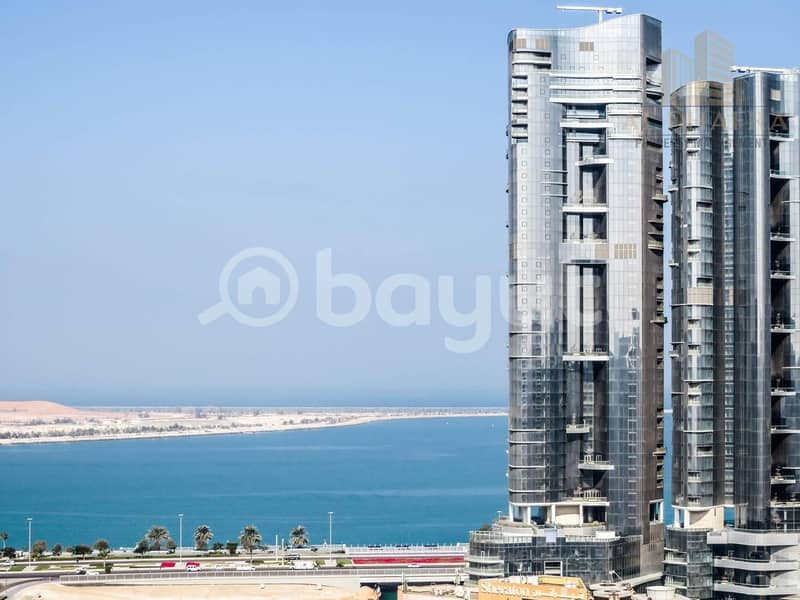 Corniche View | Spacious Balcony | By Management