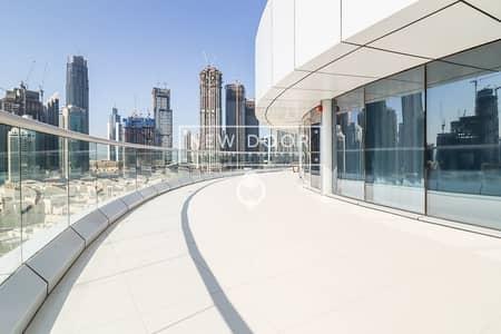 فلیٹ 4 غرف نوم للبيع في وسط مدينة دبي، دبي - Private Floor W/ Full Burj Khalifa View