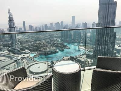 4 Bedroom Apartment for Rent in Downtown Dubai, Dubai - Sky Collection | All inclusive | Burj/Ocean View