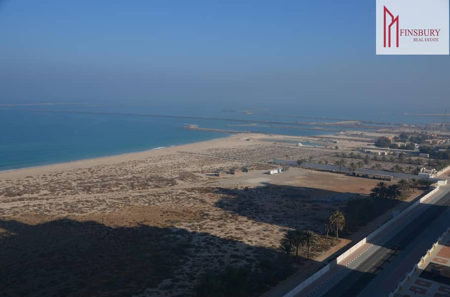 Fully Furnished   Studio   Relaxing Sea View   4 Cheques