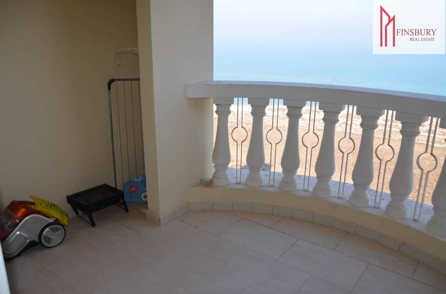 15 Fully Furnished   Studio   Relaxing Sea View   4 Cheques