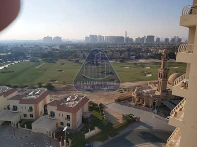 فلیٹ 1 غرفة نوم للايجار في مدينة دبي الرياضية، دبي - FULL GOLF VIEW   LOW RENT   BIG BALCONY   LOW RENT