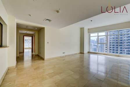 2 Bedroom Flat for Rent in Dubai Marina, Dubai - 2bhk w/ Huge balcony | Marina view | Prime Location