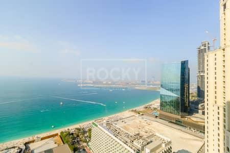 2 Bedroom Apartment for Rent in Jumeirah Beach Residence (JBR), Dubai - Spacious 2 Bed | Sea View | Rimal 2