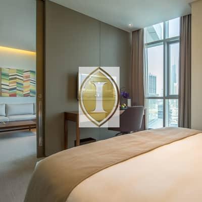 شقة فندقية 1 غرفة نوم للايجار في دبي مارينا، دبي - Marina View | Furnished | Balcony