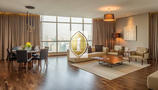 4 Bedroom Hotel Apartment for Rent in Dubai Marina, Dubai - Penthouse | High Floor | Jacuzzi