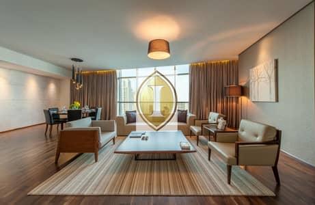 4 Bedroom Hotel Apartment for Rent in Dubai Marina, Dubai - Penthouse | Marina View | Jacuzzi