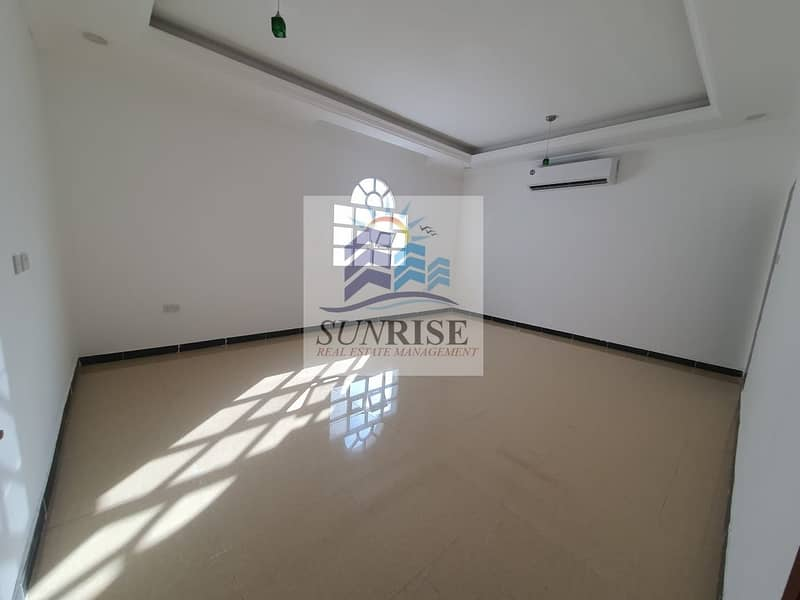 2  a private entrance villa consisting of 6 rooms and a large kitchen board